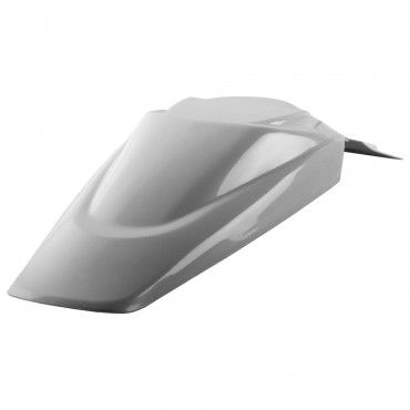 Kawasaki KLX 110 - Rear Fender White - 2002-09 Models