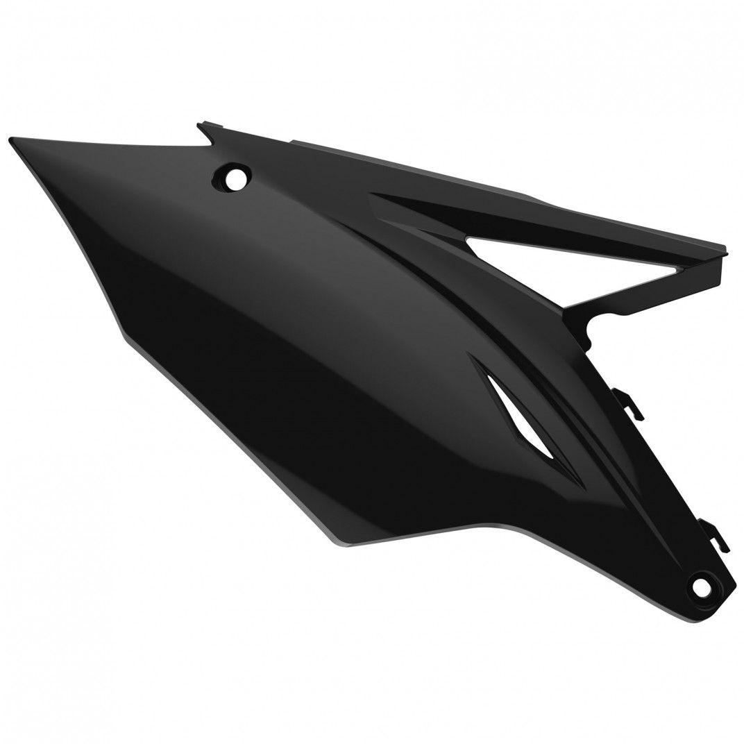 Kawasaki KX250F - Side Panels Black for MX - 2017-20 Models
