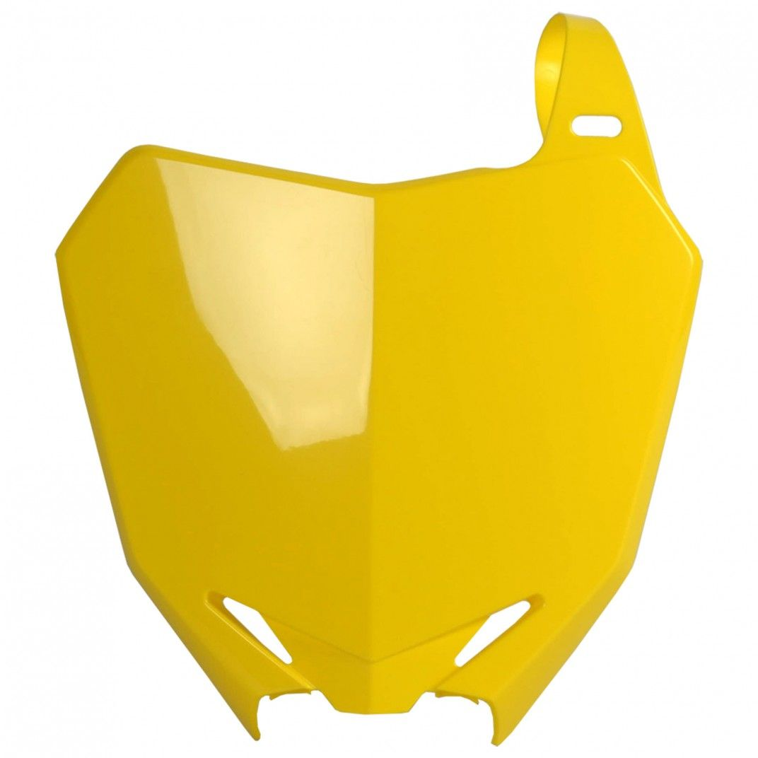 Suzuki RMZ450 - Front Number Plate Yellow - 2008-17 Models