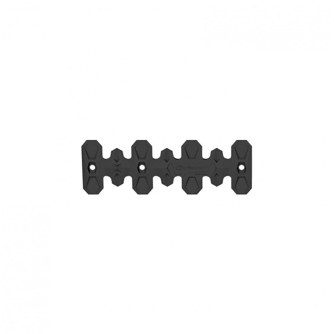 Armadillo - Proteção de Coletor 4 Tempos Preta (22 cm / 8.6 in)