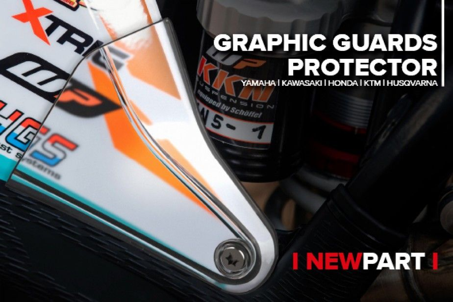 Polisport extends its Performance Parts Range with Graphic Guards Protector