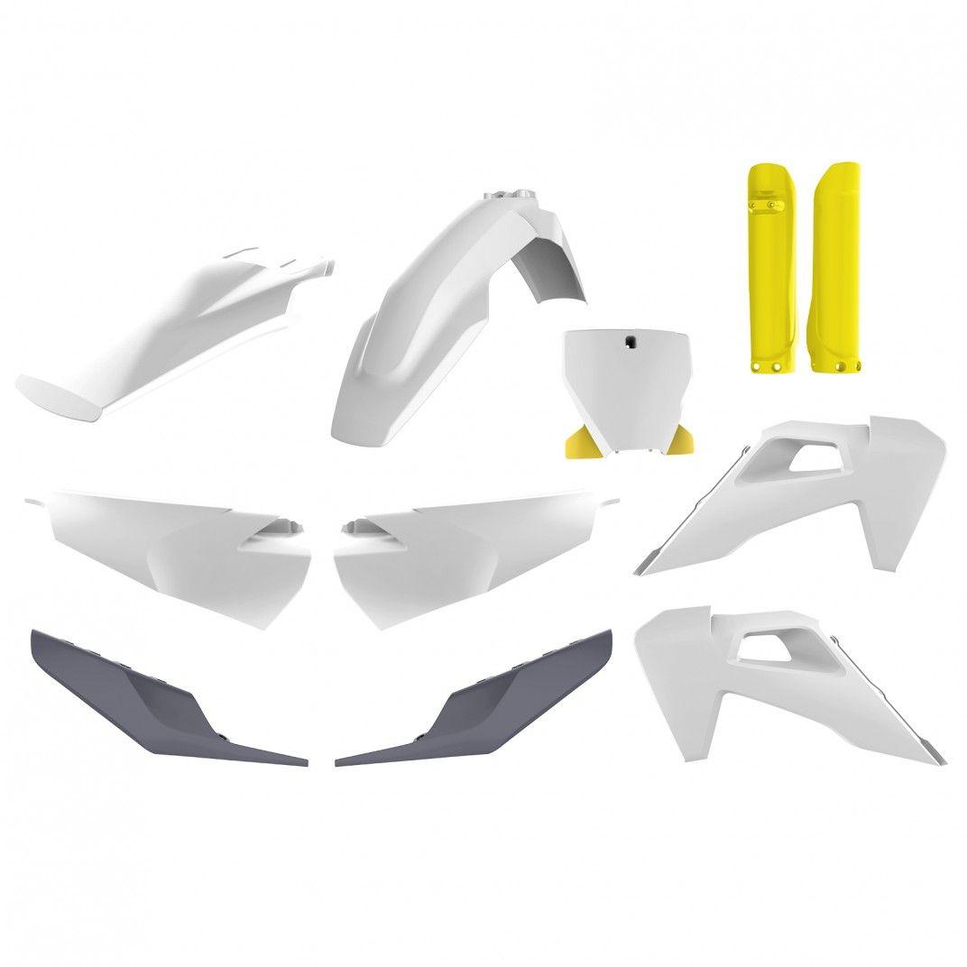 Husqvarna TC/FC - Kit de Plásticos Branco - Modelos 2019-20