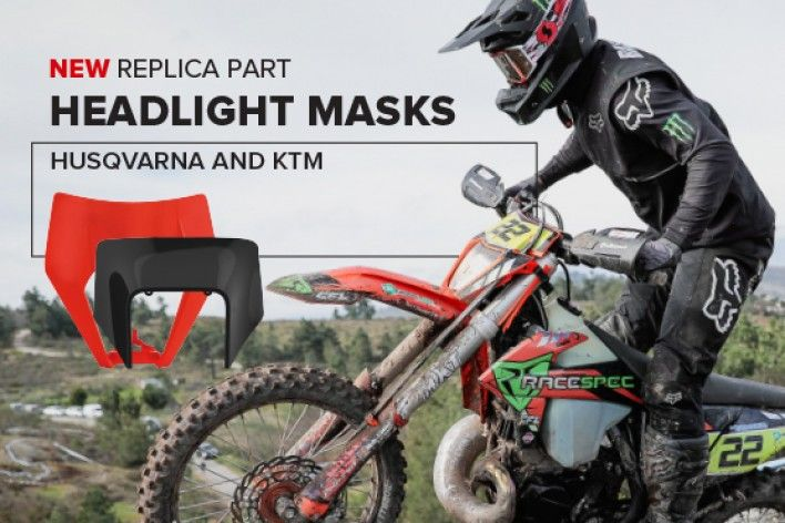 New Headlight Masks Husqvarna And KTM 2020
