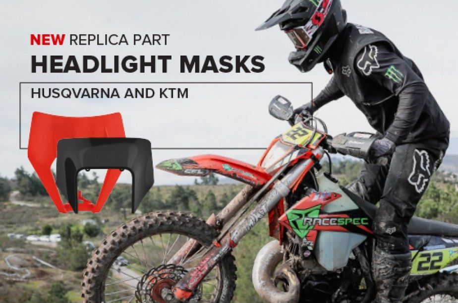 New Headlight Masks Husqvarna And KTM 2020