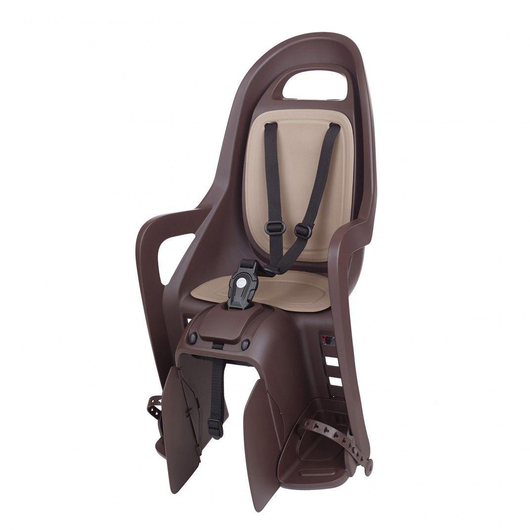 Groovy CFS - Kindersitz hinten DunkelBraun für Gepäckträger