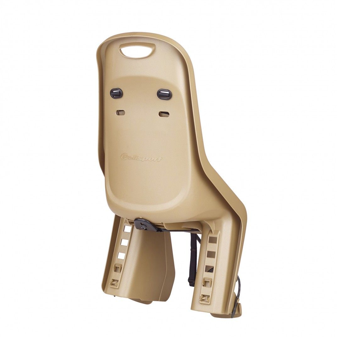 Bubbly Maxi Plus FF - Rear Child Bicycle Seat Gold for Frames