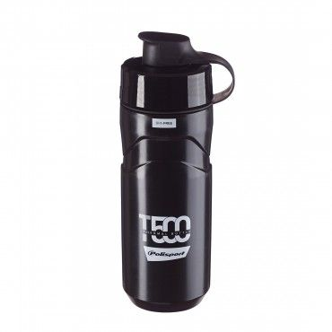 T500 - Thermal Water Bottle 500ML Black and Grey