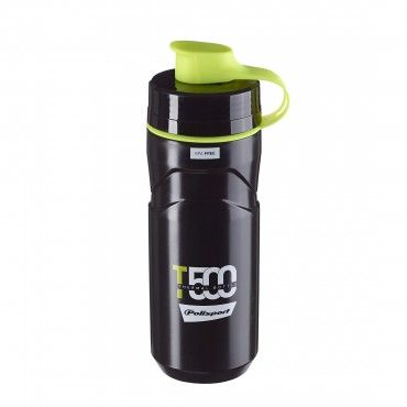 T500 - Thermal Water Bottle 500ML Black and Lime Green