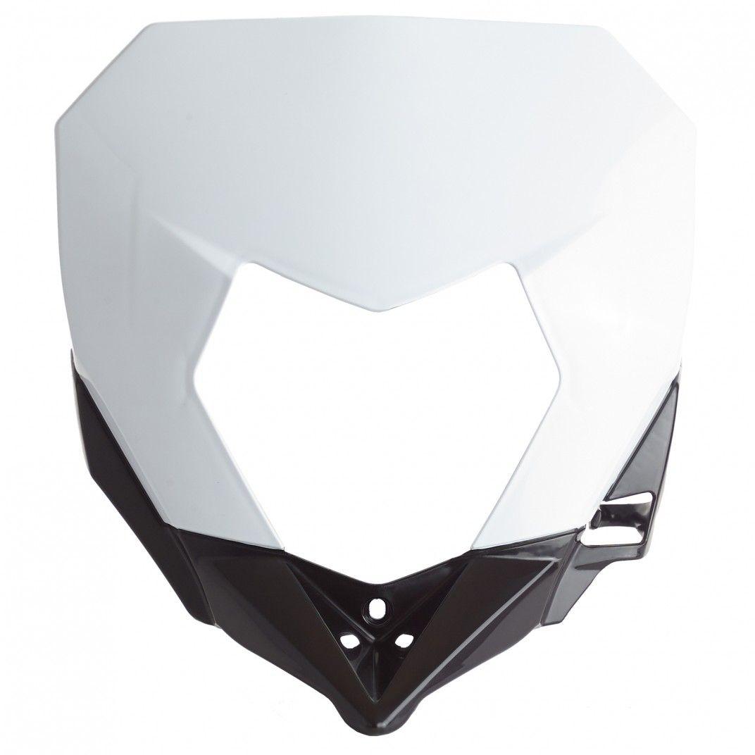 Sherco SE-R,SEF-R- Headlight Mask White and Black - 2017-20 Models