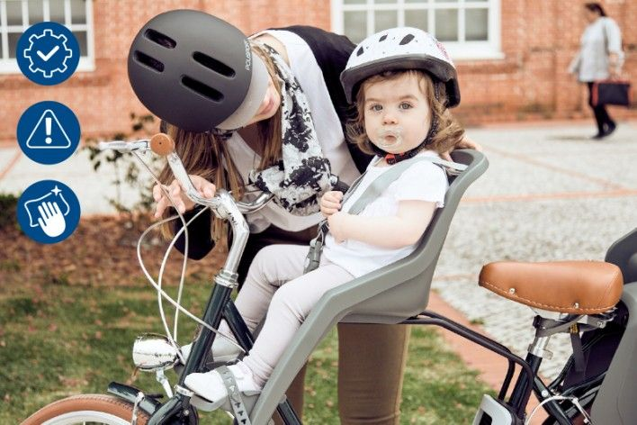 3 Rules to Keep Your Child Bike Seat Like New