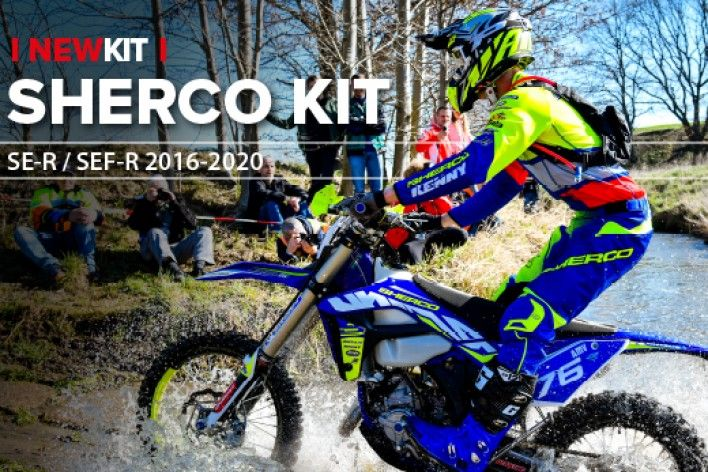 New Replica Plastics for Sherco - 2016 to 2020 Models