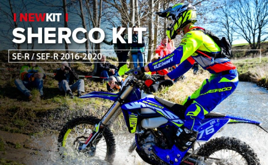 New Replica Plastics for Sherco - 2016 to 2020 Models