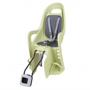 Groovy 29'' - Child Bike Seat Light Green and Dark Grey for Small Frames and 29ers
