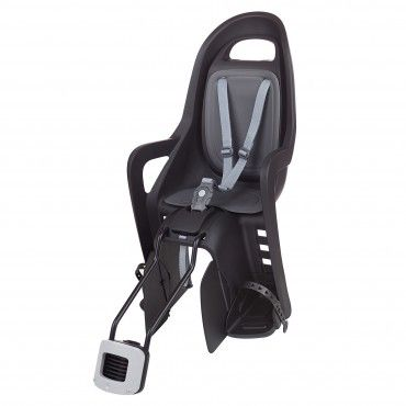 Groovy 29'' - Child Bike Seat Black and Dark Grey for Small Frames and 29ers
