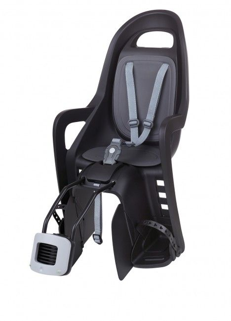 Groovy FF - Child Bike Seat for Frames Black and Dark Grey
