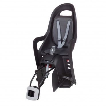 Groovy RS Plus - Reclining Child Bike Seat Black and Dark Grey