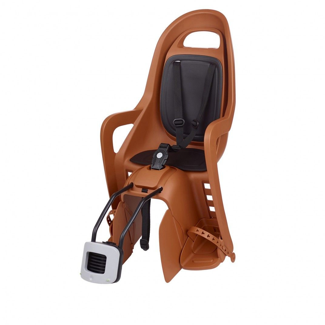 Groovy FF - Rear Child Bike Seat Caramel Brown and Black