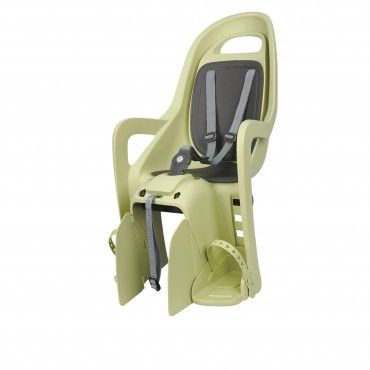 Groovy CFS - Rear Child Bicycle Seat Light Green and Dark Grey for Luggage Carriers