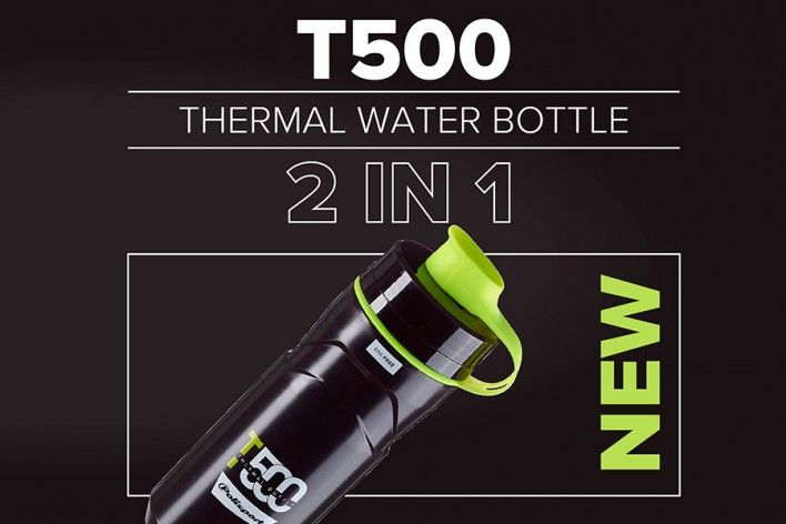 T500 - New Polisport Thermal Water Bottle 500 ml