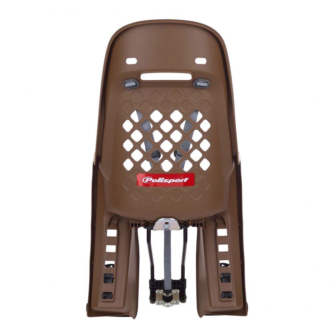 Joy 29'' - Cadeira para Bicicleta para Quadros Pequenos e Rodas 29'' Castanha e Cinzenta