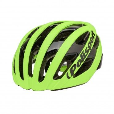 Light Pro - Cycling Helmet for Road Use Yellow Flo - L Size