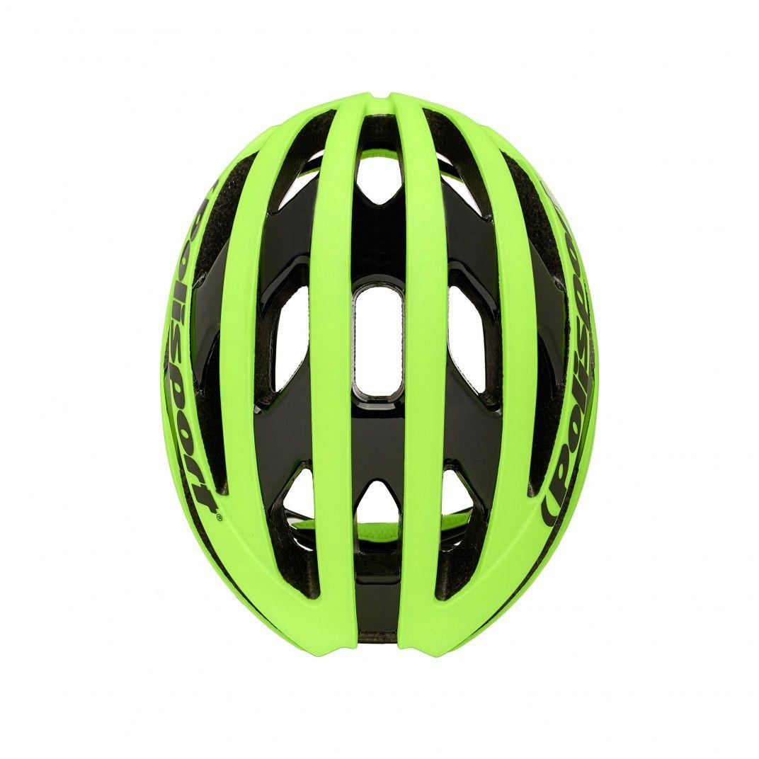 Light Pro - Radfahren Helm Flo Gelb - Größe L