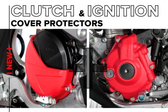 Clutch & Igntion Cover Protector's Kit