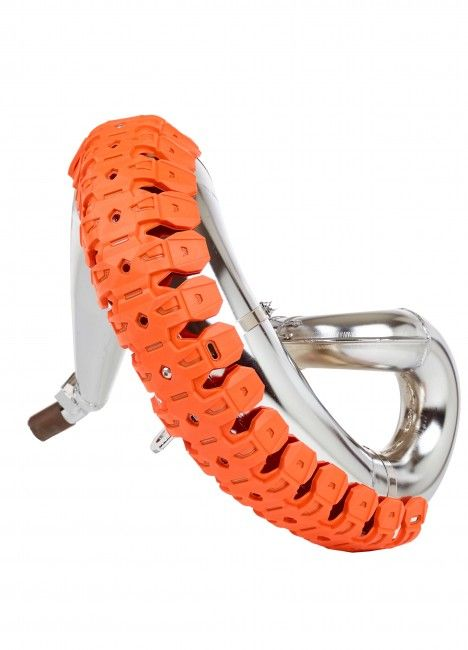 Armadillo - 2 Strokes Pipe Guard Orange KTM