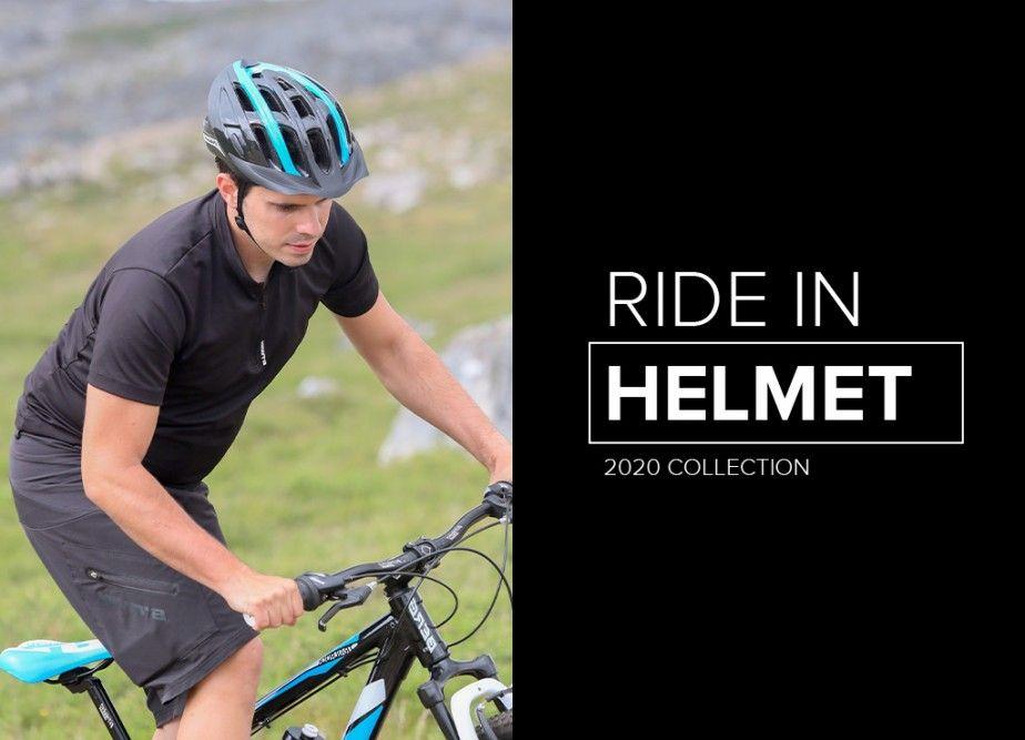 Ride In - New Bike Helmet for MTB and Trekking