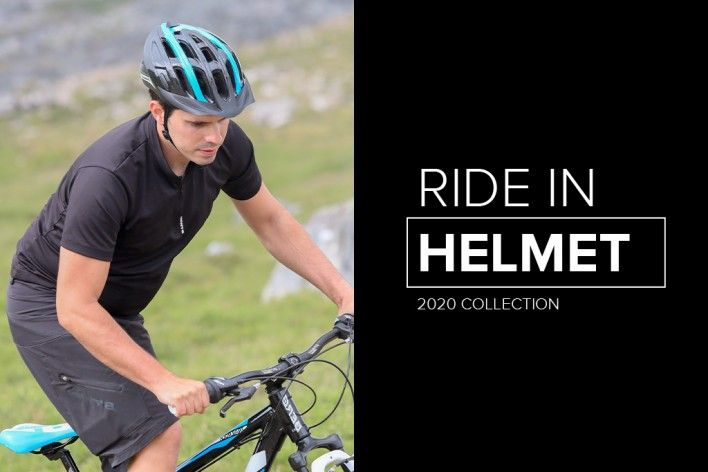 Ride In - New Bike Helmet for MTB and Trekking