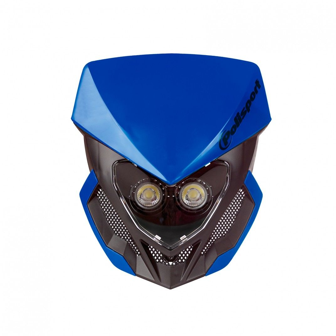 Lookos Evo - Faro Azul y Negro con Batería