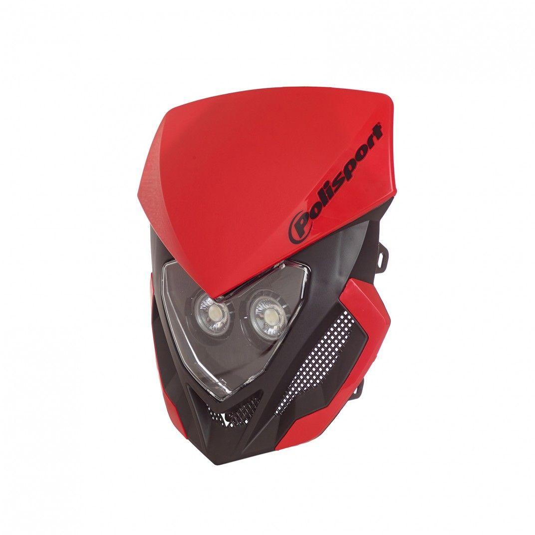 Lookos Evo - Phare Rouge et Noir avec Batterie