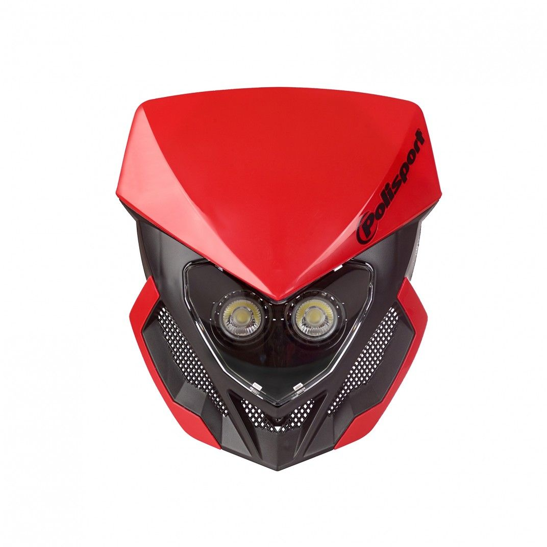 Lookos Evo - Headlight Red and Black with Battery