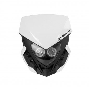 Lookos Evo - Headlight White and Black with Battery