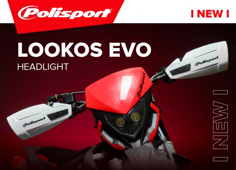 Lookos Evo - New Headlight from Polisport