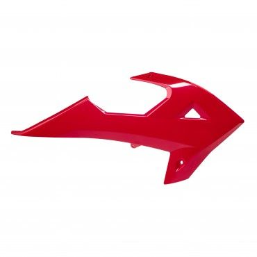 Rieju MR250/300 - Radiator Scoops Red - 2021 Models