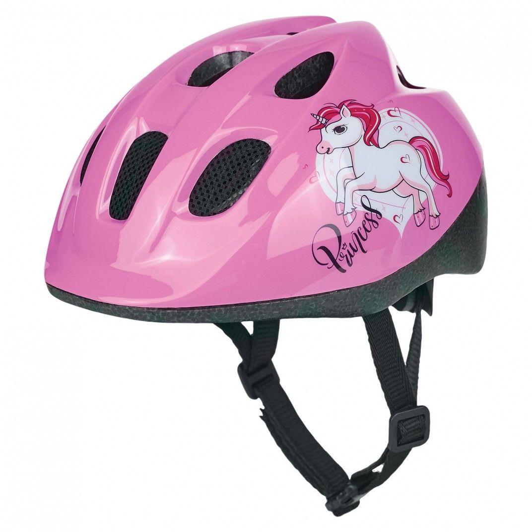 Junior - Casco per Bicicletta Rosa