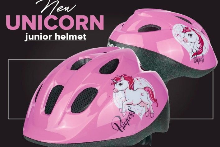New Unicorn Junior Helmet for Older Kids