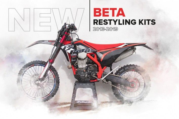 Polisport Releases Restyling Kits for Beta Models