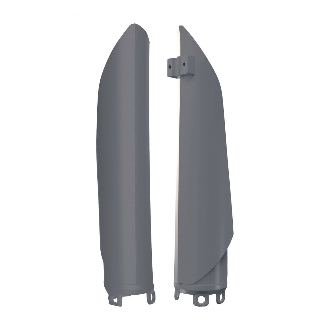 Beta RR 2T,4T - Fork Guards Nardo Grey - 2013-17 Models