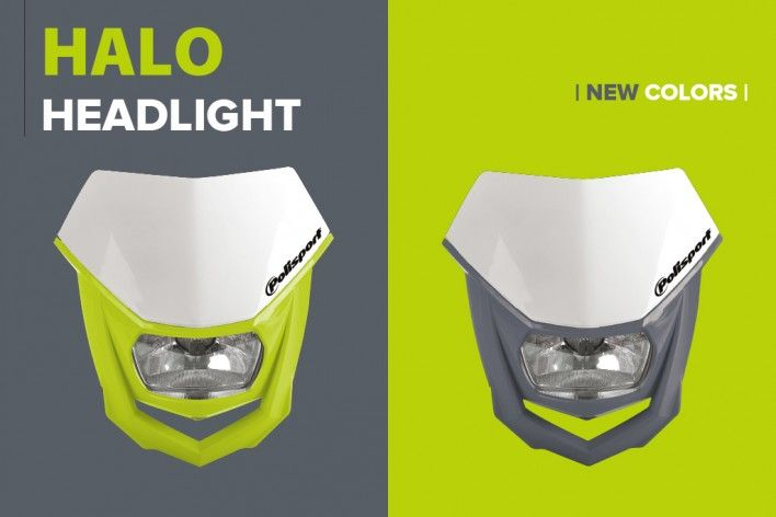 Polisport Releases New Colors for Halo Headlight