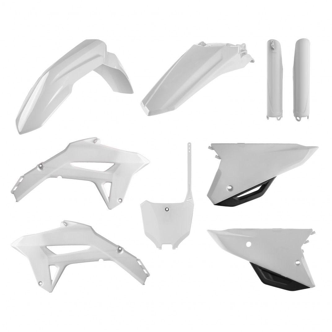 Honda CRF450R - Kit Plastique Blanc - Modèles 21