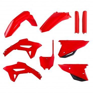 Honda CRF450R - Kit de Plásticos Vermelho - Modelos 21
