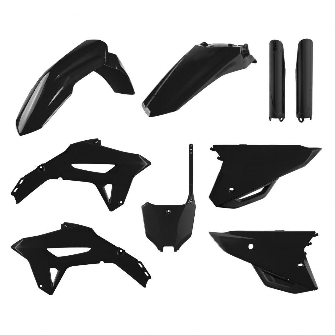 Honda CRF450R - Kit Plastique Noir - Modèles 21