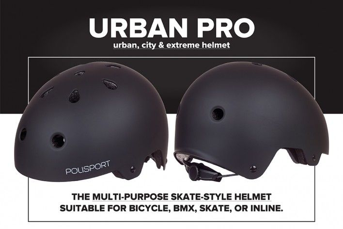 Urban Pro - The Multipurpose Urban Helmet
