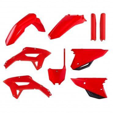Honda CRF450RX - Kit Plastiche Replica Rosso - Modelli 2021-22