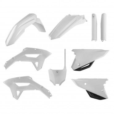Honda CRF450RX - Kit Plastiche Replica Bianca - Modelli 2021-22