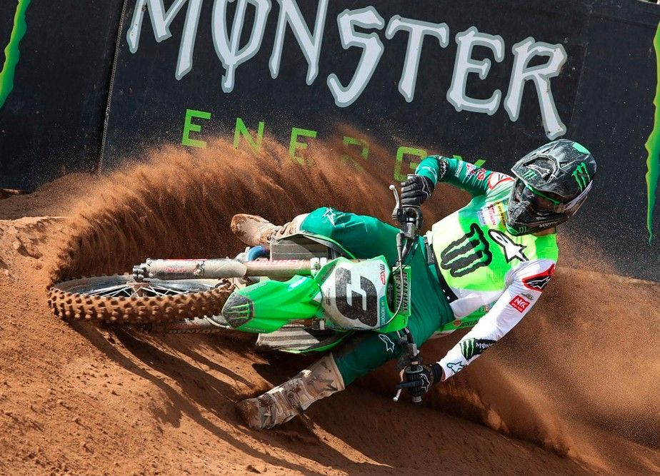 Romain Febvre just four points from the red plate